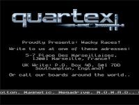 Quartex cracktro - Remake